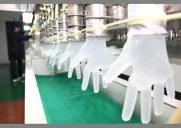 AQL 1.5 Disposable Hair dye Salon TPE Strong Tensile Gloves