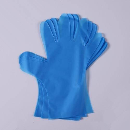 Cheap Disposable Food Service Blue TPE Gloves