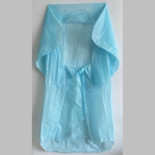 Cheap Household Water Proof Disposable CPE Hospital Gowns