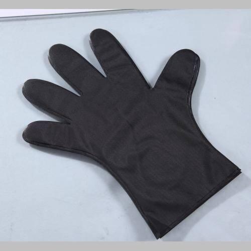 Disposable Black Hair dye Silky TPE Gloves