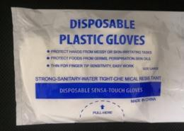 Disposable Cheap household cleaning Plastic gloves factory