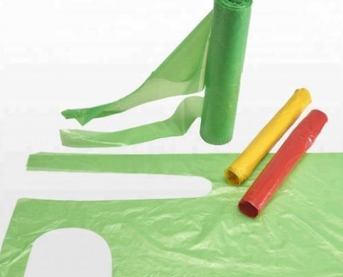 Disposable Roll Blocked PE Aprons