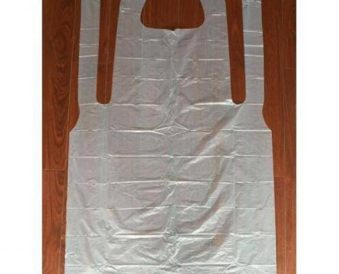 Disposable Waterproof Food Handing Service Plastic Aprons
