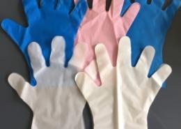 Embossing PE Gloves