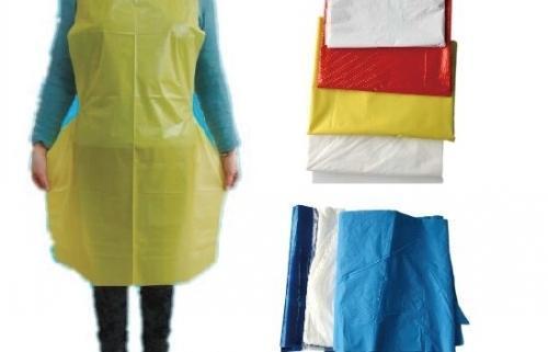 Fold Plastic Aprons