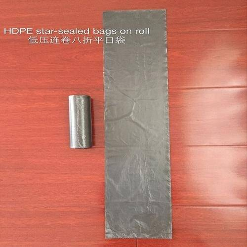HDPE STAR SEALED BAGS ON ROLL