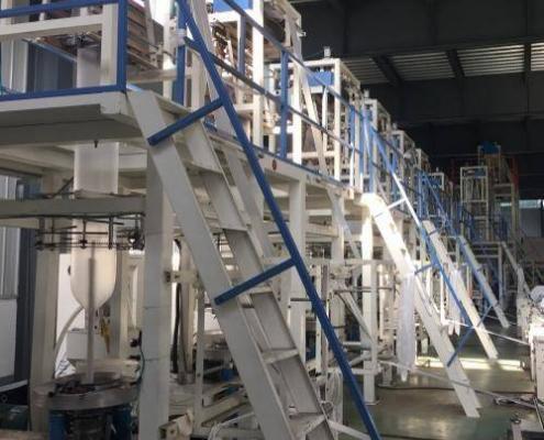LLDPE BLOWING MACHINE