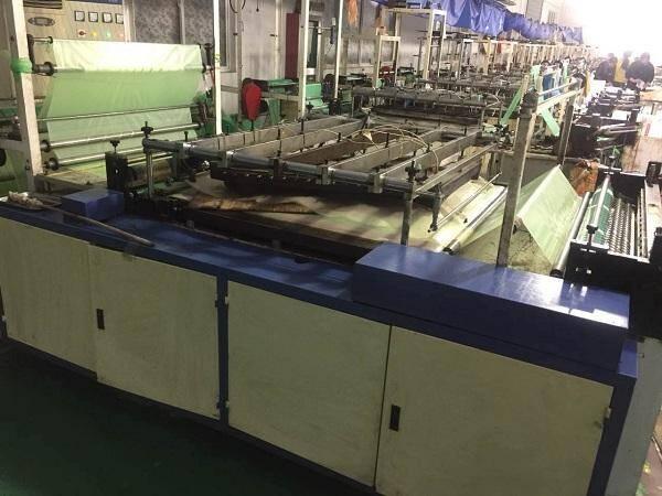 NECK STRAP LONG GLOVE MAKING MACHINE