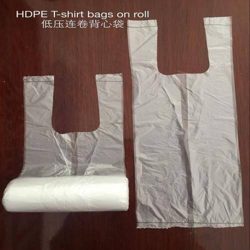 PR T-SHIRT BAGS ON ROLL