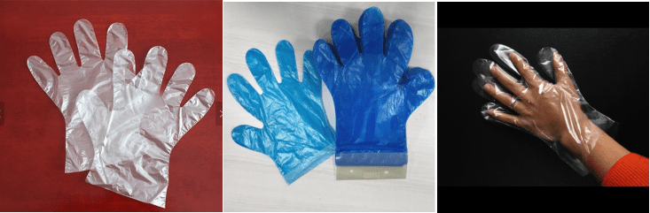 Type Poly gloves