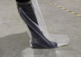 top tie pe boots