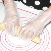 Disposable Thick CPE POLY Gloves of food preparing instead of PVC