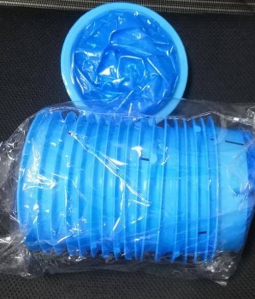 Disposable Poly sickness zip top vomit bag