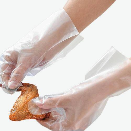 wholesale DisposableCPE cooking cleaning embossing gloves