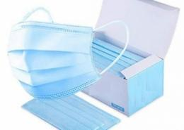 Disposable earloop 3 ply Medical Surgical face mask export