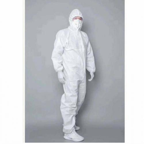 Non woven High quality disposable safety chemical protective coverall clothing
