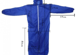 PP PE SMS laminated nonwoven coverall
