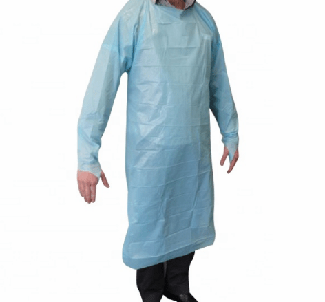 Disposable FDA medical hospital surgical CPE gown