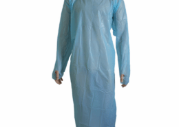 Disposable Plastic CPE surgical Protective Medical Operation Gowns