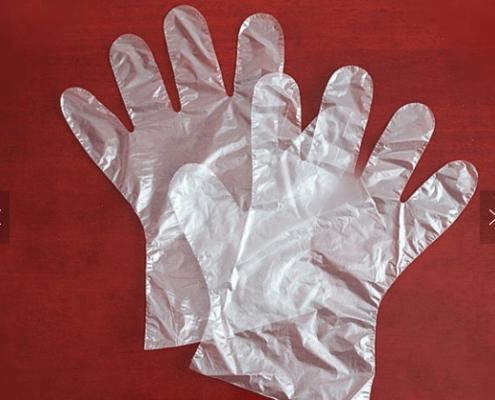 Beauty salon restaurant multipurpose disposable polyethylene plastic CPE Gloves