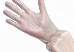 Disposable Transparent Plastic Water proof Strong tensile Food contact wash dishes TPE Gloves
