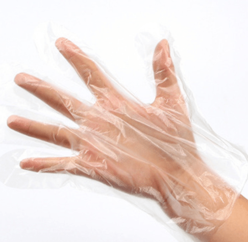 Disposable Transparent water proof Plastic protective HDPE CPE Gloves for BBQ Restaurant Kitchen Eco-friendly Food