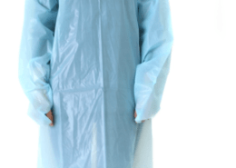 Medical Operation Disposable plastic Protective CPE Gown