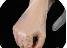 Use kitchen food High elasticity high strength Disposable food contact tpe gloves