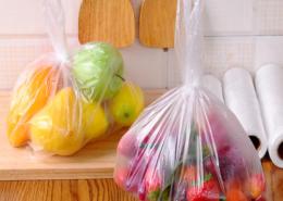 2020 hot sale customized fruit vegetables PE bags