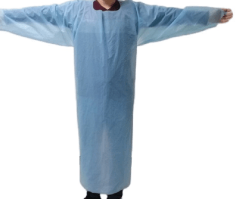 Cheap high quality disposable protective CPE gown