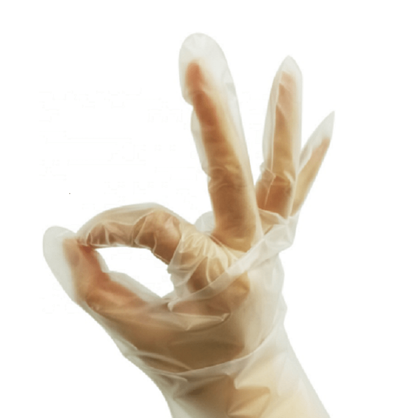 Food Grade High Quality Disposable Plastic Tpe Gloves