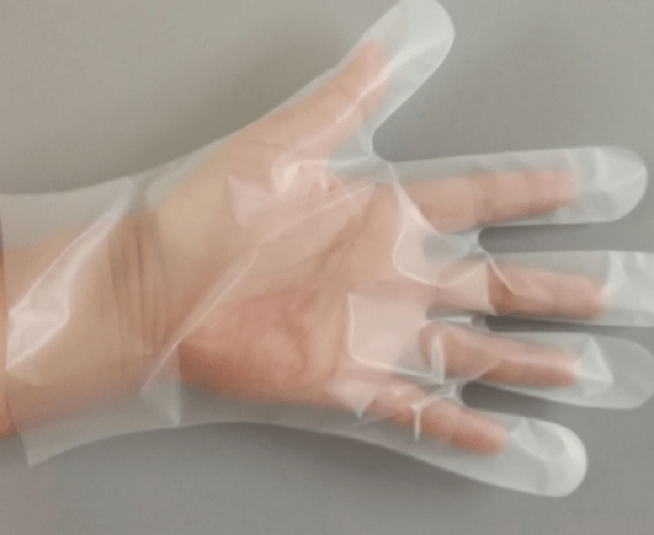 For hotels or housework Cheap price cpe gloves
