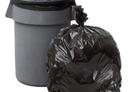 Good insulator disposable plastic garbage bag on roll
