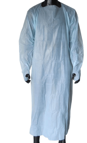 High Quality Waterproof Disposable Plastic CPE gown