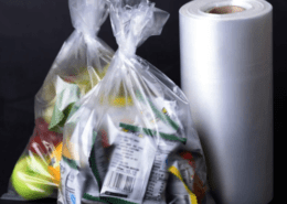 Supermarket secure packaging food plastic bags