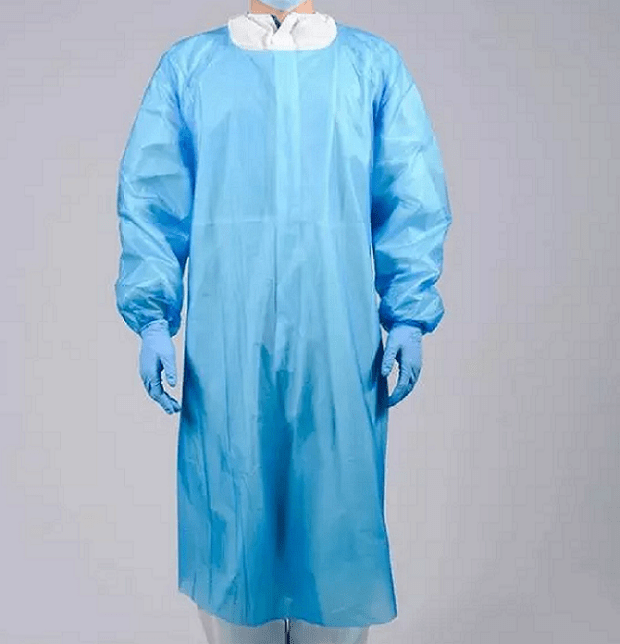 Surgical isolation disposable protective cpe gowns