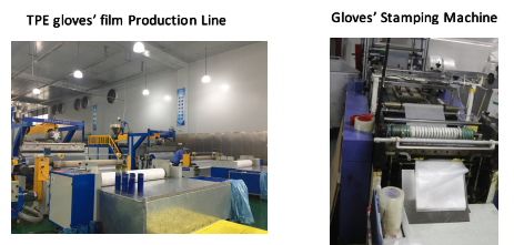 TPE GLOVE MAKING MACHINES