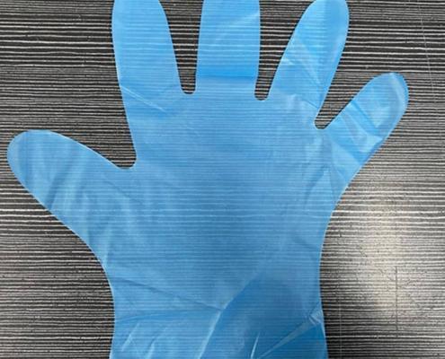 TPE Plastic Disposable Safety food grade Work Gloves