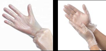 TPE glove vs vinyl glove