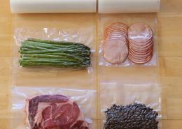 Vacuum Seal Food Grade Packaging Plastic food Ba