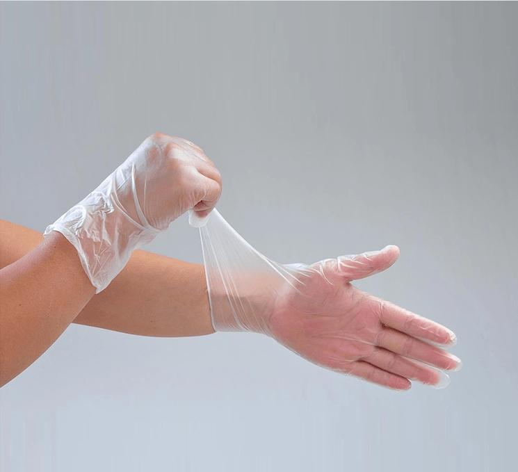 PVC206 Disposable PVC Vinyl examination gloves