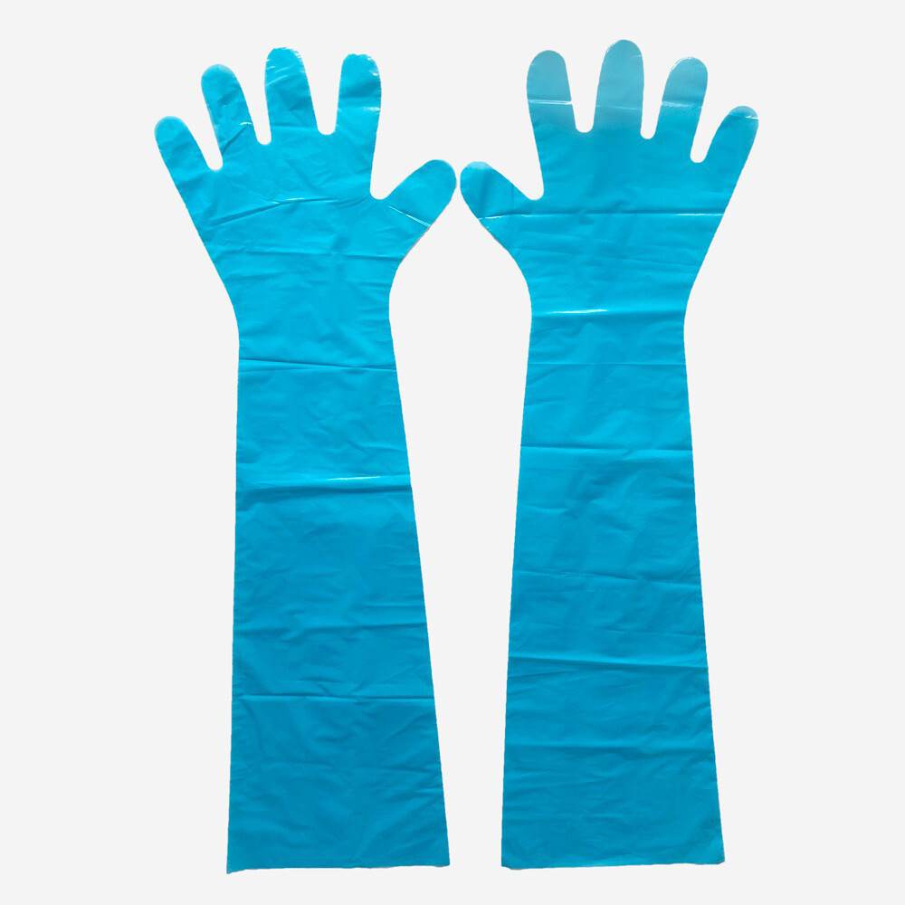 Factory direct sale disposable long veterinary gloves