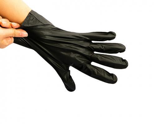 Fashion Black household CPE cleaning gloves
