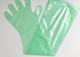 Super sensitive vet gloves for animal