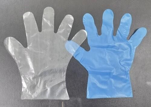 disposable food processing plastic pe glove