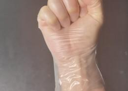 tpe clear food service glove powder free