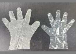 Kind of PE gloves