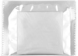 Laminated bag folding gloves