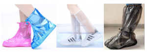 Types of PVC boots cover